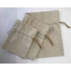 3 x Linen Bags