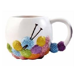 Knitting Mug